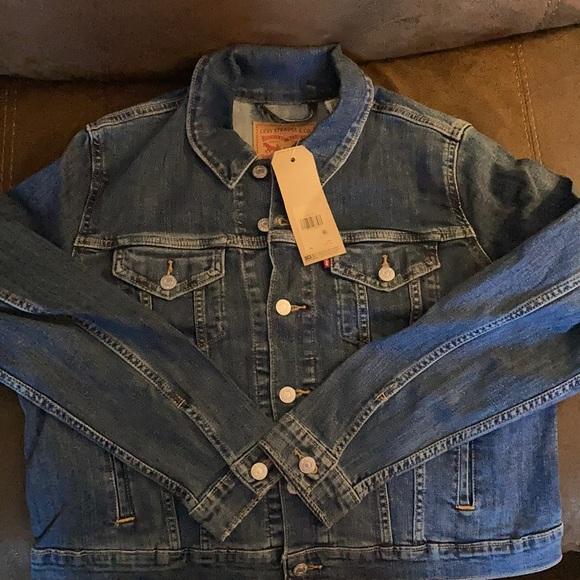 Original Levi's jean jacket size XL Button up